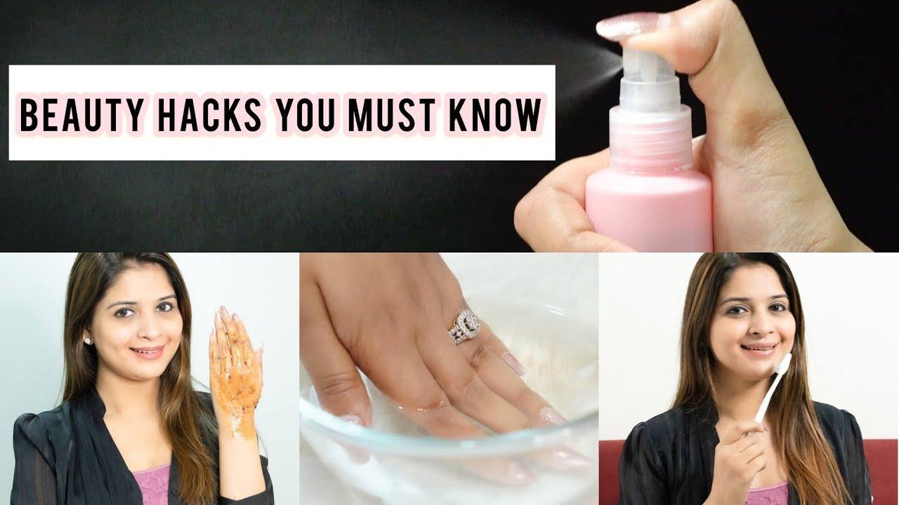 Beauty Hacks You Must Know || Life Saving Beauty Hacks || Be That Diva