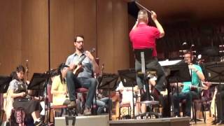 James Hill - One Small Suite for Ukulele(Largo cantabile) with TCO rehearsal