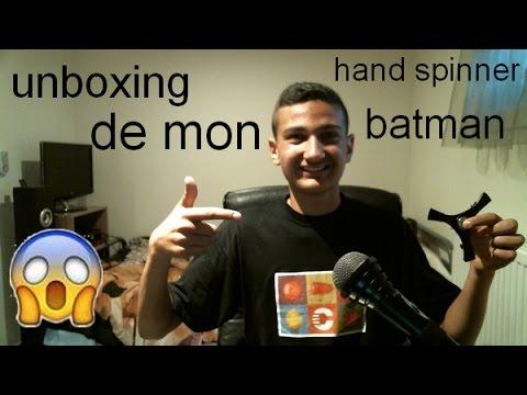 Unboxing De Mon Hand Spinner Batman Plus Annonce Concours 1k