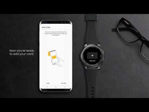 Samsung Pay Tutorial | Gear S3