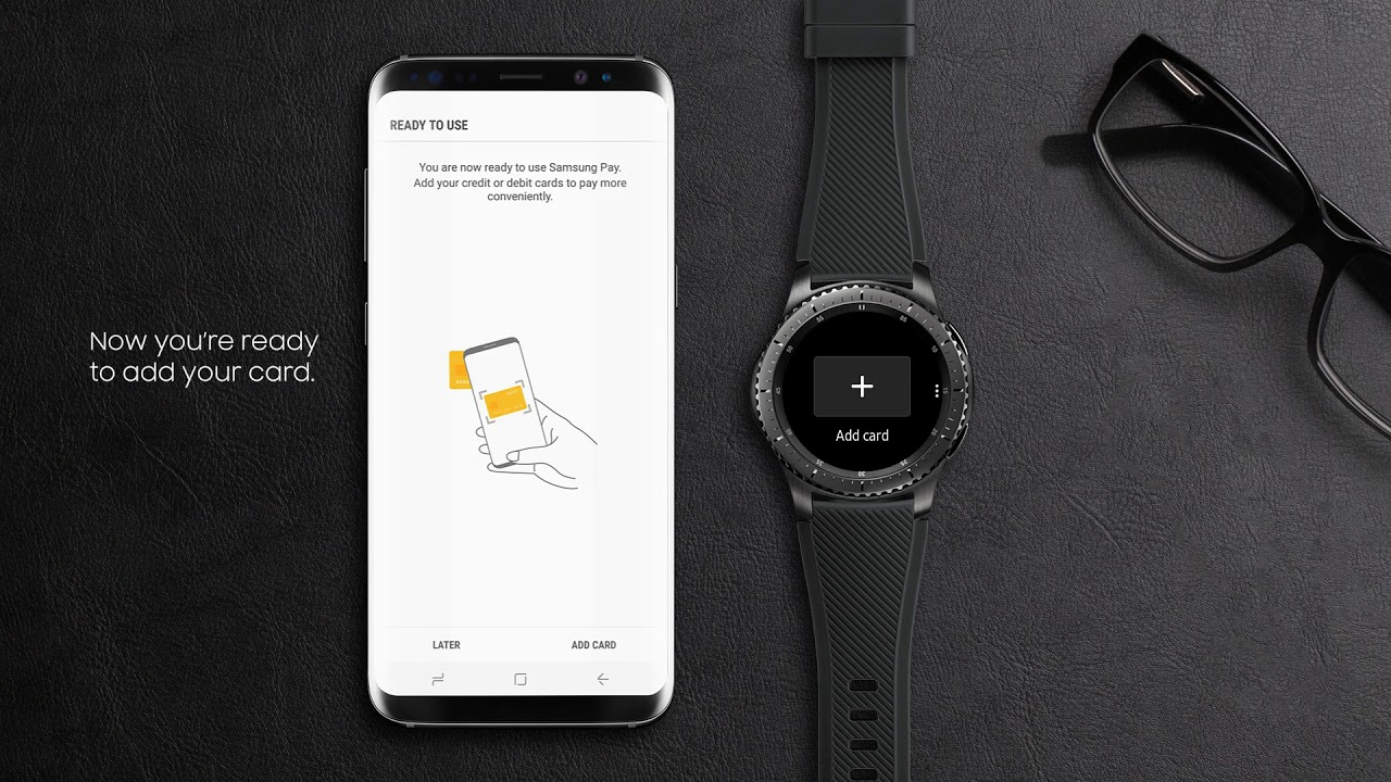 how to add gear s3 to up