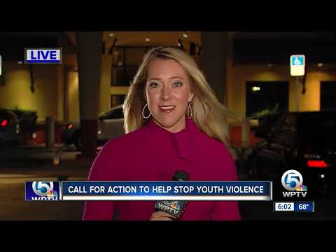 Call For Action To Help Stop Youth Violence In West Palm Beach