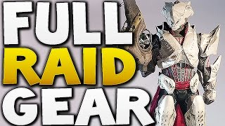 Destiny - FULL TITAN RAID GEAR ! (Kings Fall)