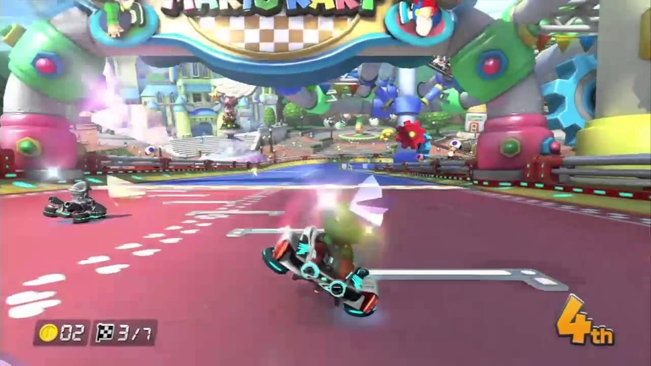Baby Mario Mario Kart 8: [Mario Kart 8] GCN Baby Park 200cc Gameplay