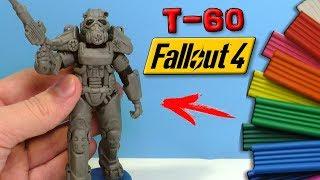 FALLOUT 4 - ЛЕПИМ СИЛОВУЮ БРОНЮ Т-60 | Т60 Fallout 76