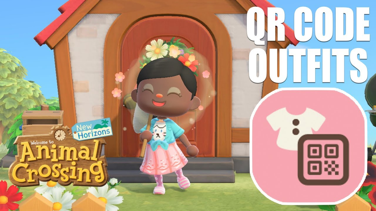 How To Scan Qr Codes And Get Custom Clothes Without The Able Sisters In Animal Crossing New Horizons Youtube