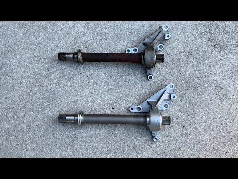 Honda Odyssey Intermediate Shaft Replacement DIY