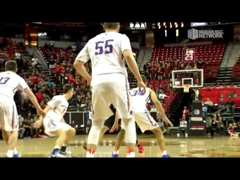 Quarterfinal 4 Highlights: #6 San Diego State 87, #3 Boise State 68