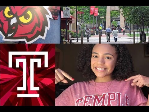 "VLOG | Temple University Tour + ""review"""