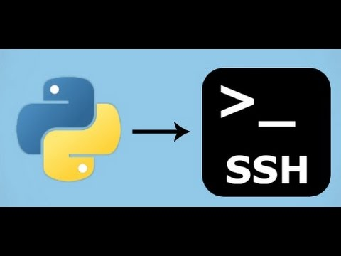 Python Programming Language Script To Manage Ssh With Other Machines