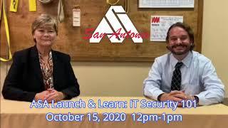 ASA Launch & Learn IT Security