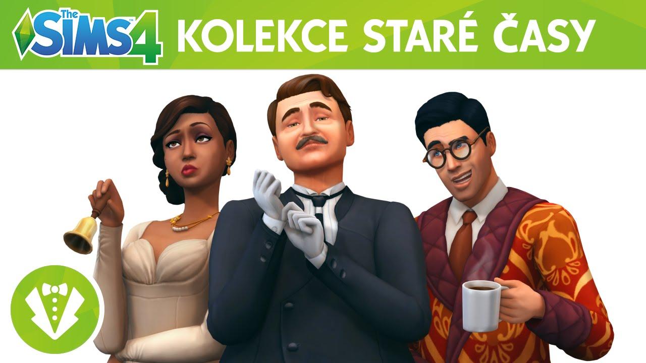 Výsledek obrázku pro The Sims 4 staré časy
