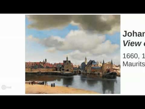Johannes Vermeer, View of Delft - cristinadelrosso.blogspot.com