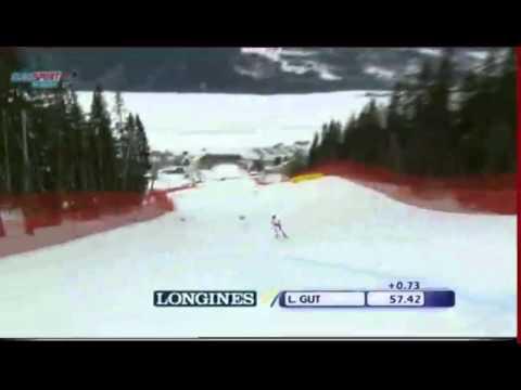 Alpine Skiing World Cup - Are 2011 - Super-G Women