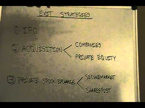 Exit Strategies and Their Role in Venture Capital & Angel Investing
