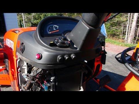 Kubota BX25D Auxiliary Fuse Box With Bonus Video