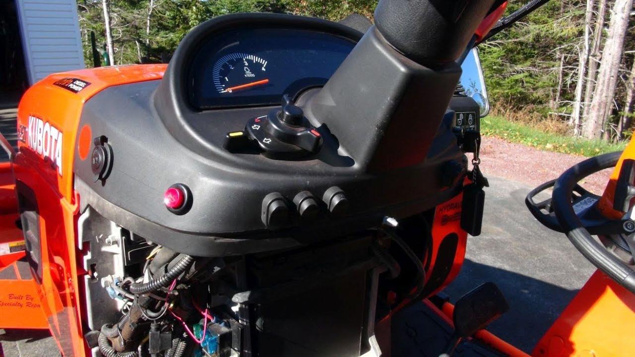 medium resolution of kubota bx25d auxiliary fuse box with bonus video