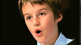 Moray West, boy soprano, sings Queen of the Night thumbnail