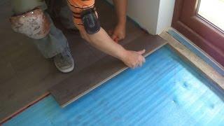 Installing Laminate Wood Flooring Close To The Patio Door