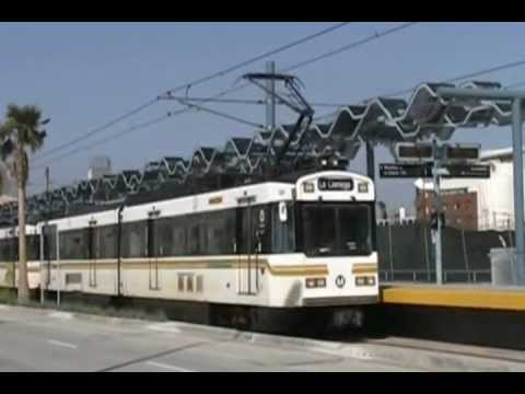 Los Angeles Metro Blue / Expo Line Testing - April 7, 2012