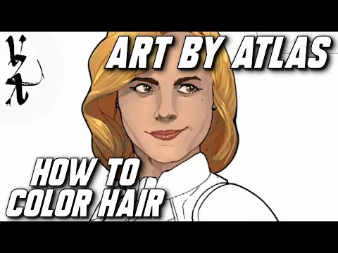 How to Color Hair with Art By Atlas