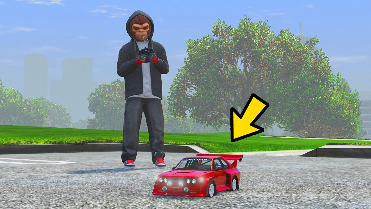 You Can Drive Toy Cars In Gta 5 Youtube