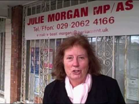 Julie Morgan MP in Cardiff North