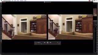 build a 3d sbs video for google cardboard using cardboard rubber bands