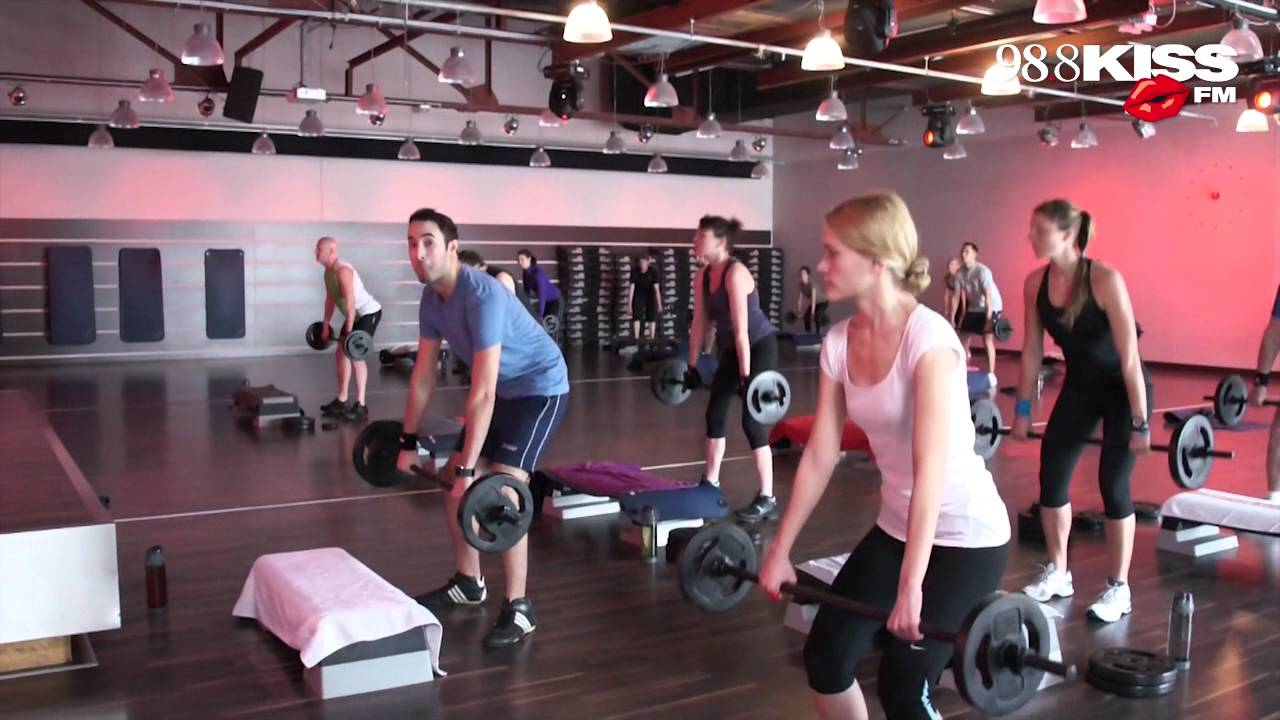 timeless design 4db25 e161f Nora & Tolga beim Body Pump Work Out @Superfit