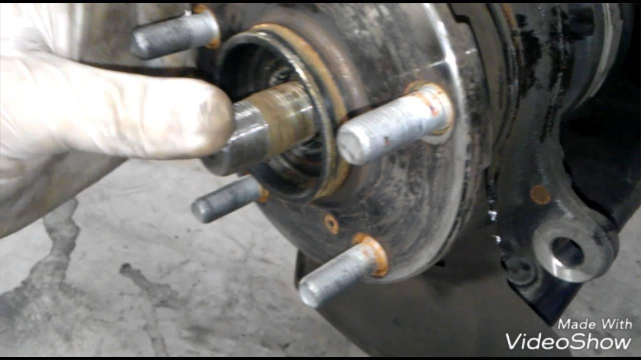 2015 Rav-4 Front Wheel Bearing Replacement