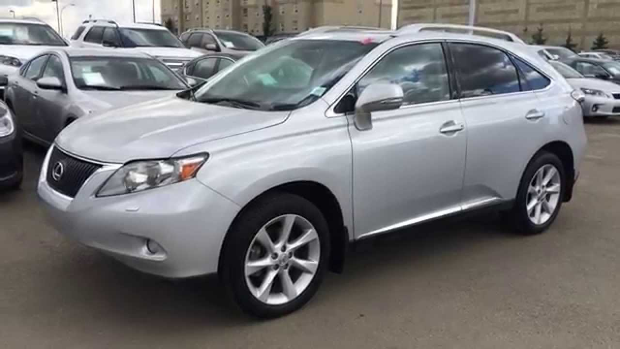 Lexus Certified Pre Owned 2012 RX 350 AWD Touring Package
