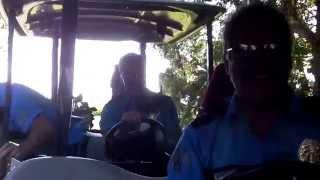 policemen golf cart crash