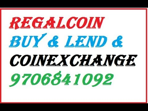 HOW TO BUY & LEND RECALCOIN FROM COINEXCHANGE.IO &  IN HINDI/ URDU BY MOHIBUR REGALCOIN.CO REGALCOIN