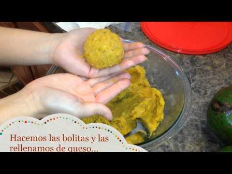 Bolitas de plátanos maduros rellenas de queso - Ohhlala Café ♥