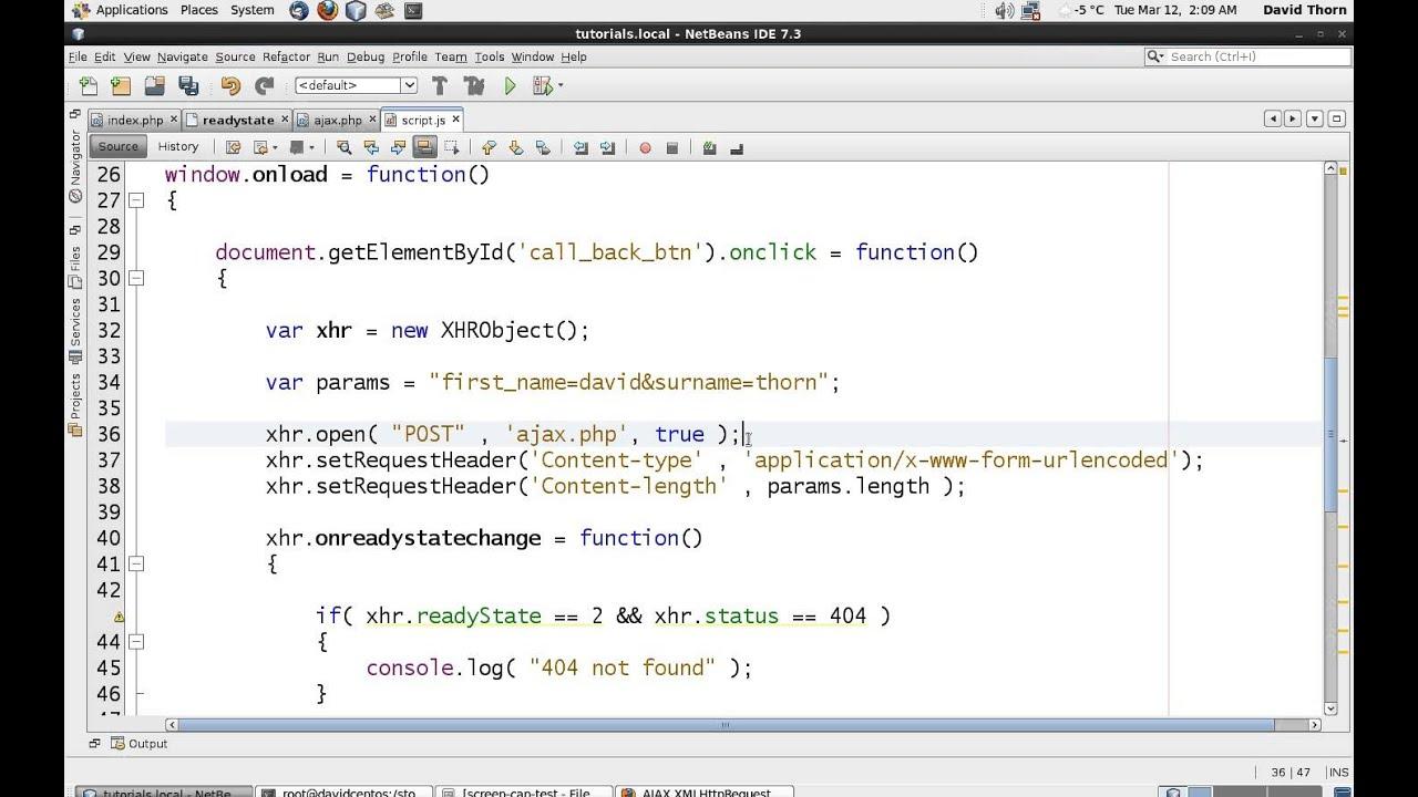 AJAX XMLHttpRequest - Javascri...