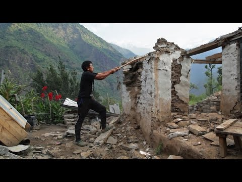 The Ultimate Do-It-Yourself Challenge: Life After An Earthquake