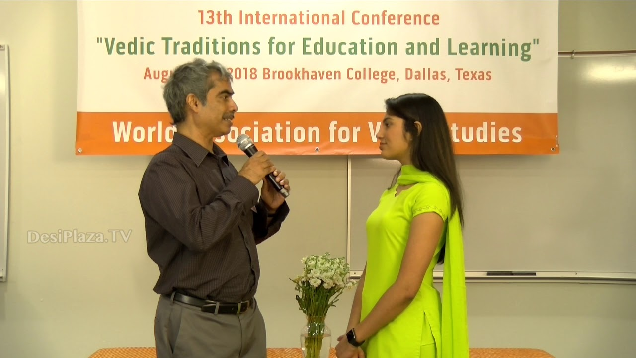Interview with Dr Raj Vedam at WAVES  Dallas, Texas - 2018.