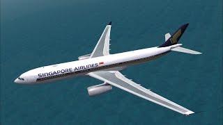 Singapore Airlines A330-300 Surabaya - Singapore (FSX)