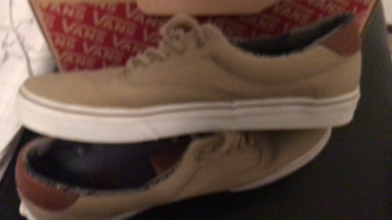 f5877a88b400 Vans C L ERA 59 Unboxing   On Feet - YouTube