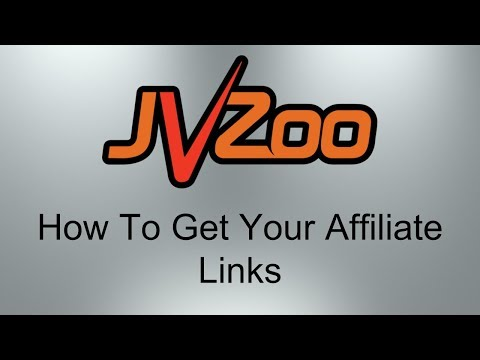 How To Get Your Affiliate Links