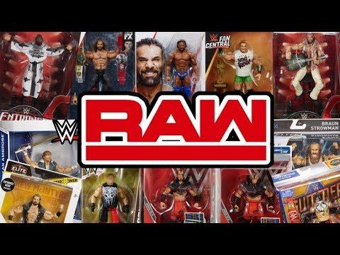 Best WWE Action Figure For Every RAW Men's Superstar!!!