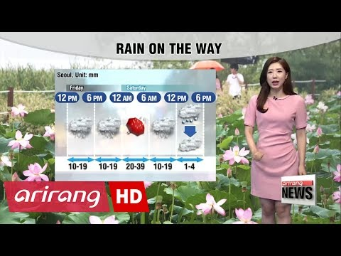 Rain, cooler temperatures on the way