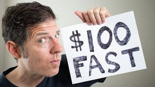 How To Make $100 FAST Online **Emergency Money** For Broke People