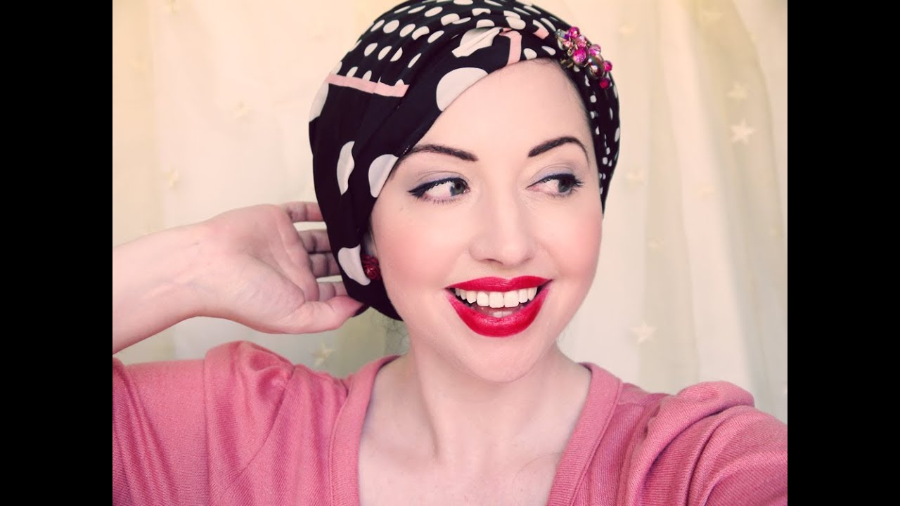 Four New Ways To Tie A Headscarf More Vintage Glamour