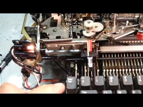 IBM Selectric Typewriter Dual Pitch Margin Repair Flush & Clean Racks for II or III 2 3
