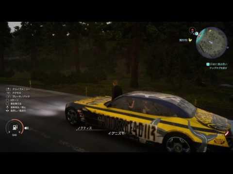 FF15 [バグ]イグニスが車を立って運転をするww
