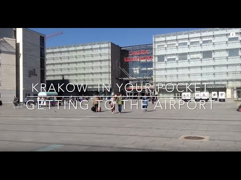 Krakow in Your Pocket - By train from the city to the airport