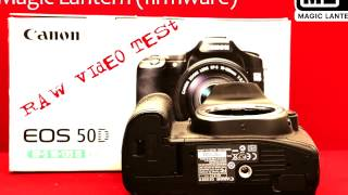 RAW Video Canon 50D + Magic Lantern(Magic lantern firmware for canon on EOS 50D. Magic Lantern, enables photo-only DSLR to shoot not only Full-HD videos but adds many more custom features!, 2016-12-15T08:07:53.000Z)