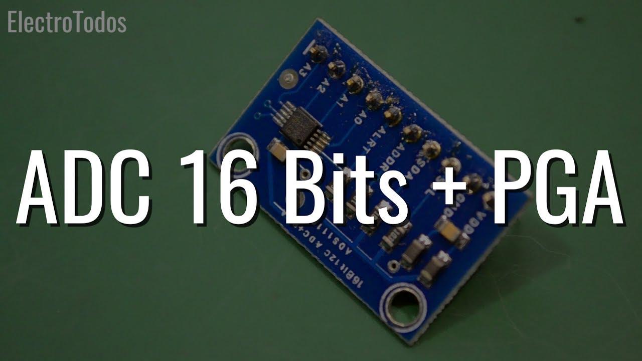 CJMCU ADS1115 16Bit I2C ADC Development Board Module for Arduino