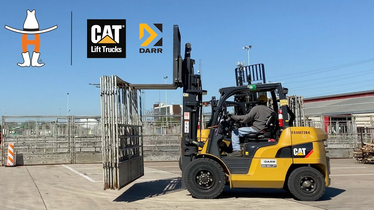 Official Lift Truck Provider for the Houston Livestock Show and Rodeo - Cat lift trucks